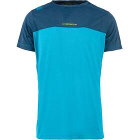 La Sportiva Crunch - T-shirt manches courtes Homme - bleu/turquoise